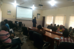 Prof.-Aibinu-talk-to-the-students-on-how-to-write-Research-Grant